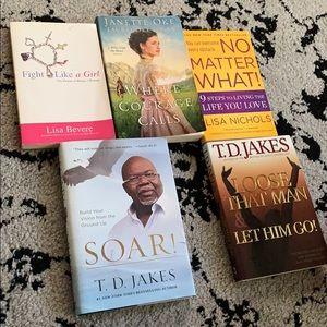 Inspirational Books T D Jakes and More!